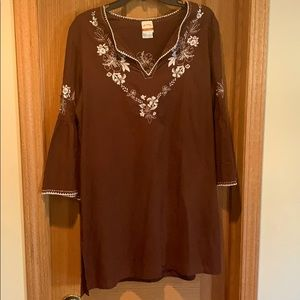 Tommy Bahama Relaxed Tunic Dress Coverup 🌴🌺